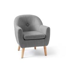 Kids Concept - Lænestol til børn, Mørkegrå