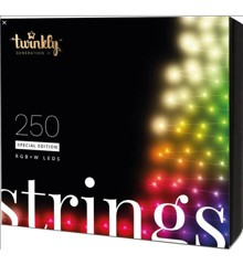 Twinkly - Lightstrings Special Edition 250 LED'S RGBW - Black/Green Wire