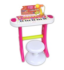 Bontempi - Electronic Keyboard, Pink (133672)
