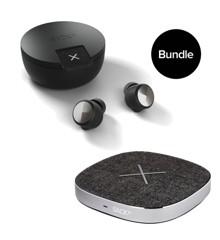 SACKit ROCKit Onyx + CHARGEit Dock Wireless Charger - Bundle