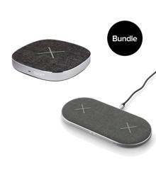 SACKit - CHARGEit  Dual Dock +  CHARGEit Dock  - Bundle