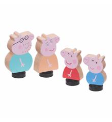Peppa Pig - Familie Pakke i Træ