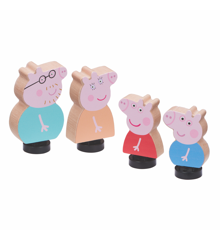 Peppa Pig - Wood - Family Figure Pack (20-00106)