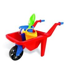 Wheelbarrow with sand toys (13875)