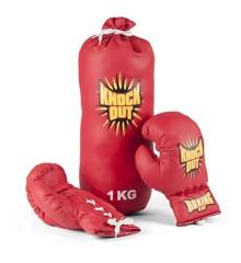 Vini Sport - Boxing bag with gloves for kids (24360)
