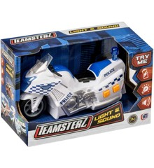 Teamsterz - Politi Motorcykel med lys- og lydmodul (1416563)