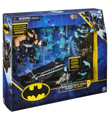 Batman - Batcycle w/2 Figures, 10 cm (6055934)