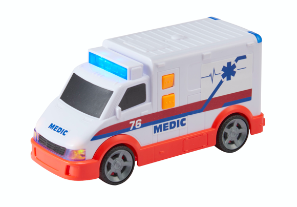 Teamsterz - Small Light and Sound Ambulance (1416564)