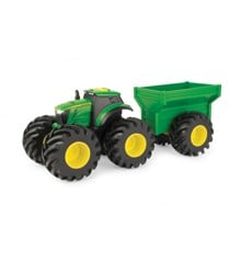 John Deere - Monster Treads Tractor with trailer (15-46260)