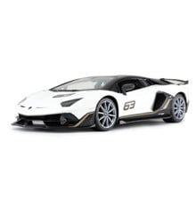 Rastar - Lamborghini Aventador SVJ, Hvid - R/C 1:14 (23036)