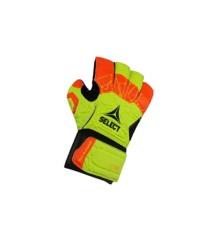 Select - Goalkeeper Gloves, Orange - size 5-6 years (26057)