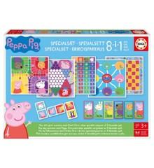 Peppa Pig - Special Game Set, 8 in 1 (80-18979)