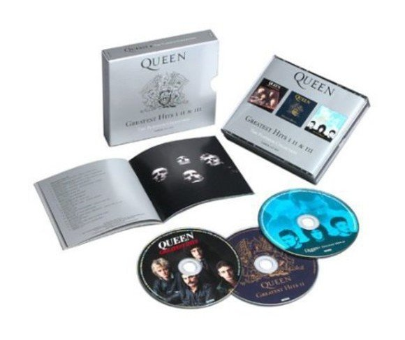Queen – Greatest Hits I II & III (The Platinum Collection) - 3CD