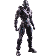 Halo 5 Guardians - Play Arts Kai - Spartan Locke