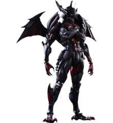 Monster Hunter 4 Ultimate - Play Arts Kai - Diablos Armor (Rage Set)