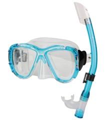 Sunflex - Dykkersæt SHARK - Dykkermaske og snorkel, 6-12 år