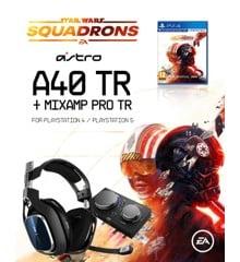 Astro - A40 TR + MA PRO TR PS4 GEN4 + Star Wars - Squadrons (UK/Nordic) - Bundle