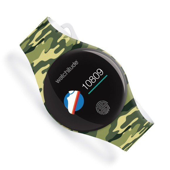 Watchitude - MOVE2 activity watch for kids - Army (815)