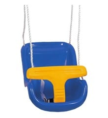 Spring Summer - Baby Swing Deluxe - Blue/Yellow (301204)