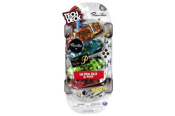 Tech Deck - Finger Skateboard 4 Pack - Ultra DLX Primitive (6028815)
