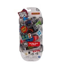 Tech Deck - Finger Skateboard 4 Pack - Ultra DLX Santa Cruz (6028815)