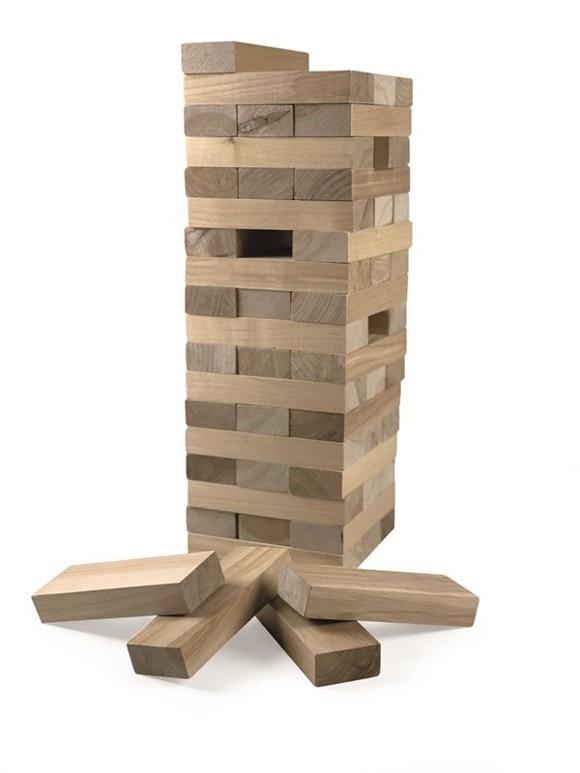 Spring Summer - XL Wooden Building Blocks 54 pcs (302215)
