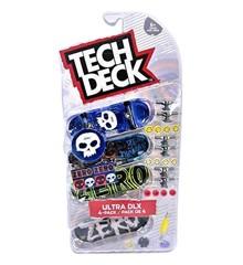 Tech Deck - Finger Skateboard 4 Pack - Ultra DLX Zero (6028815)