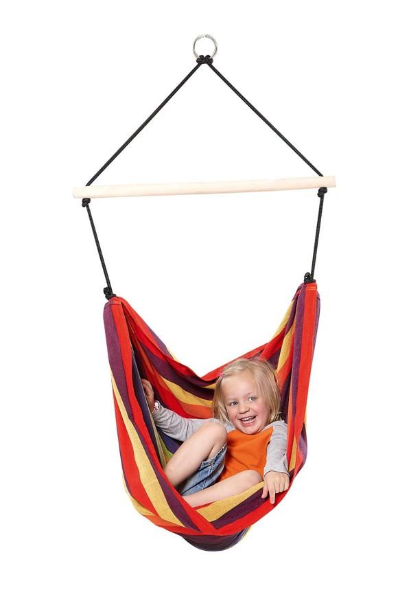 Amazonas - Kids Relax Hammock Chair - Rainbow (AZ-1012300)
