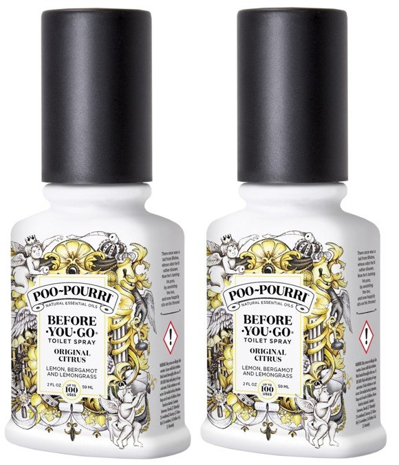 Poo~Pourri - 2x Original Citrus Toilet Spray 59 ml