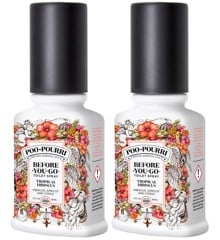 Poo~Pourri - 2x Tropical Hibiscus Toilet Spray 59 ml