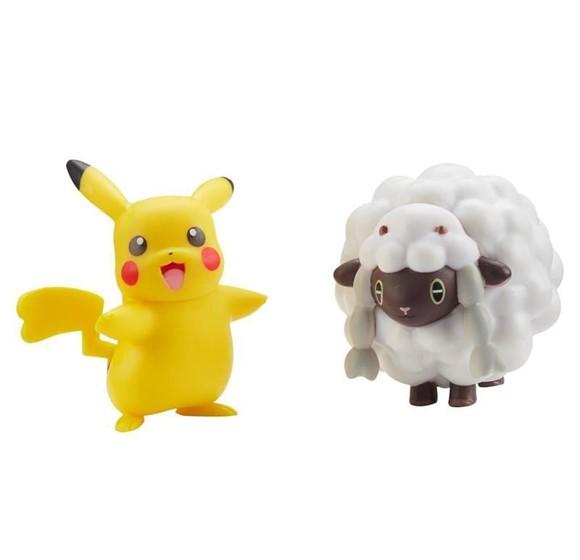 Pokemon - W7 Battle Figure - Pikachu & Wooloo (PKW0126)