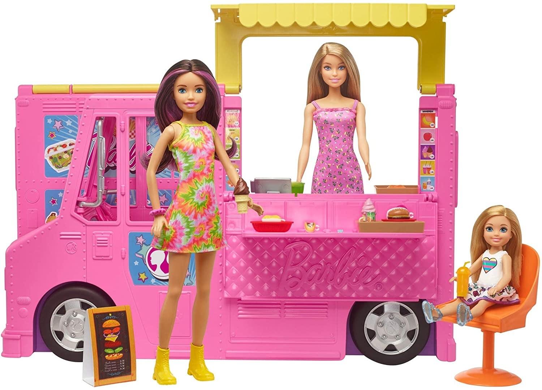 Barbie - Barbie and Sisters Food Truck (GWJ58)