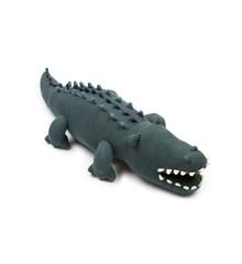 Smallstuff - Pude Tøjbamse Krokodille - Grøn/Blå