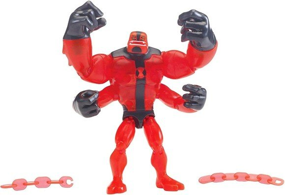 Ben 10 - Basis Figur - Alien Worlds - Four Arms