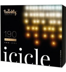 Twinkly - Icicle 190AWW Gold Edition 5m