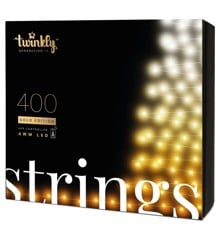 Twinkly - Lightstrings 400 AWW Gold Edition