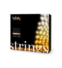 Twinkly - Lightstrings 250 AWW Gold Edition