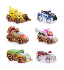 Paw Patrol - True Metal - Gift Pack with 6 Vehicles - Off Road Mud