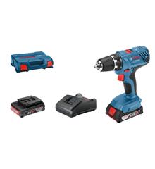 Bosch Professional - GSR 18V-21 - Cordless Drill Driver - Battery & Case Set