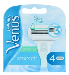 Gillette - Venus Smooth Sensitive Barberblade  4-Pack