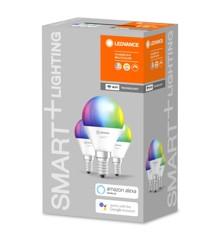 LEDVANCE - SMART+ Minibrine 40W/RGBW matt E14 WiFi 3-Pack
