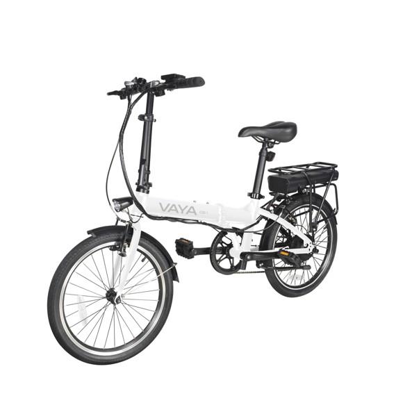 Vaya - CB-1 Electric City Bike - White (1641WH)