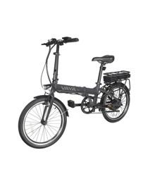 """Vaya - CB-1 Elektrisk/Hybrid Cykel 20"""" 250w - Mørk Grå"""