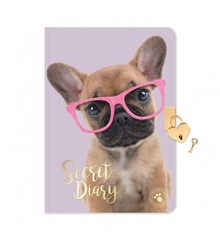 Studio Pets - A5 Diary With Lock - Dog (95-IT-23110)