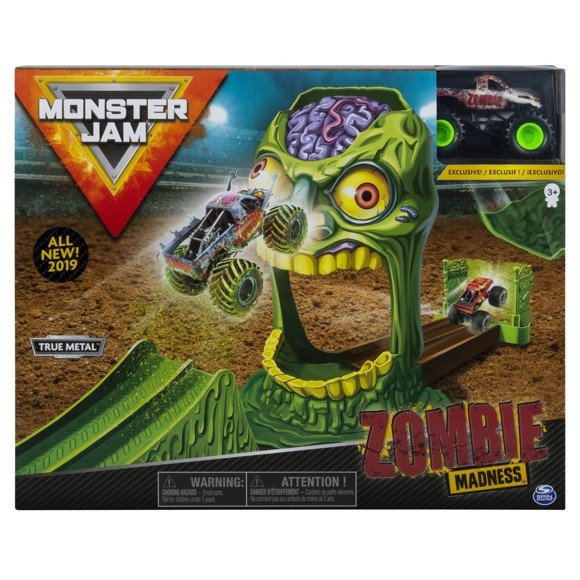 Monster Jam - 1:64 Playset  - Zombie (6045029)