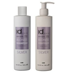 IdHAIR - Elements Xclusive Silver Shampoo 300 ml + Conditioner 300 ml