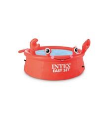 INTEX - Happy Crab Easy Set Pool (880 L) (26100)