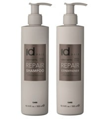 IdHAIR - Elements Xclusive Repair Shampoo 300 ml + Conditioner 300 ml