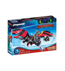 Playmobil - Dragon Racing: Hiccup and Toothless (70727)
