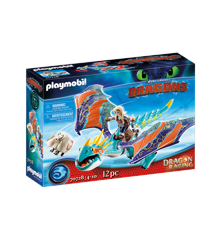 Playmobil - Dragon Racing: Astrid and Stormfly (70728)